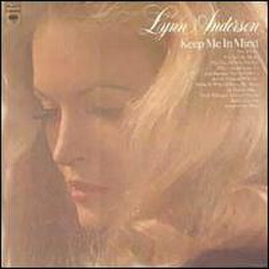 Keep Me in Mind (Lynn Anderson album) - Image: Lynn Anderson Keep Me In Mind 2