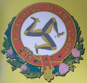 Manx Electric Railway - Image: MER Crest