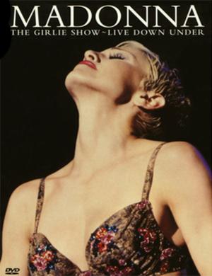 The Girlie Show: Live Down Under - Image: Madonna The Girlie Show Live Down Under