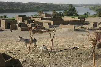 Dar al-Manasir - View over Marha, Sur Island in Dar al-Manasir