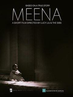 <i>Meena</i> (film) 2014 documentary film about sex trafficking in India