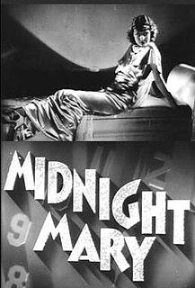 <i>Midnight Mary</i> 1933 film by William A. Wellman