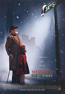 <i>Miracle on 34th Street</i> (1994 film) 1994 Christmas film by Les Mayfield