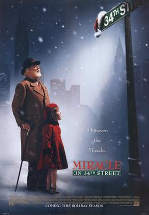 Miracle on 34th Street (1994 film) - Theatrical release poster
