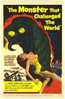 Image result for movie the monster that challenged the world