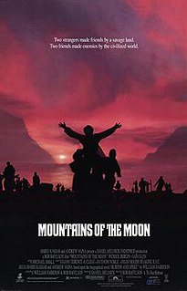 <i>Mountains of the Moon</i> (film) 1990 film by Bob Rafelson