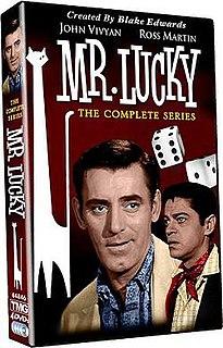 <i>Mr. Lucky</i> (TV series) television program