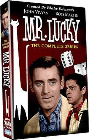 Mr. Lucky (TV series) - The Complete Series DVD cover