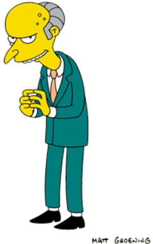 Harry Shearer - Shearer's character Mr. Burns
