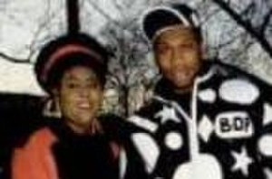 Ms. Melodie - Ms Melodie and KRS One in 1988