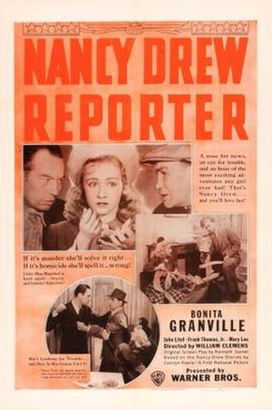Nancy Drew... Reporter - Theatrical release poster