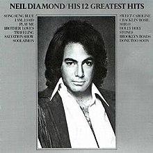 Greatest hits album by neil diamond