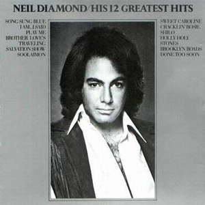 His 12 Greatest Hits - Image: Neil Diamond His 12Greatest Hits