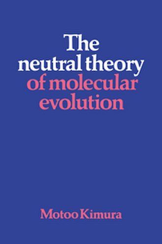 The Neutral Theory of Molecular Evolution - Image: Neutralmotookimura