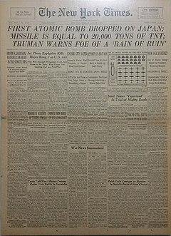 New York Times 8-07-1945 Rare City Edition.jpg