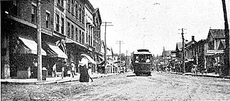 Northport, New York - Main Street, sometime between 1902 and 1909