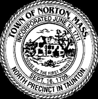 Norton, Massachusetts - Image: Norton MA seal