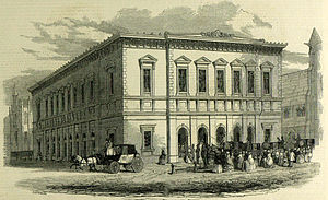 Philharmonic Hall, Liverpool - The first hall, 1849