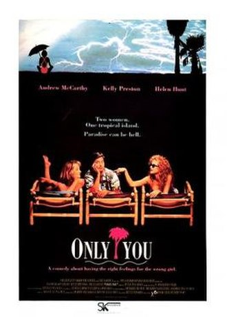 Only You (1992 film) - Theatrical release poster