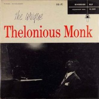 The Unique Thelonious Monk - Image: Orig Unique Monk