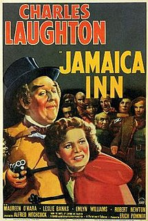 <i>Jamaica Inn</i> (film) 1939 film by Alfred Hitchcock