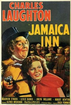 Jamaica Inn (film) - Film poster for the US release