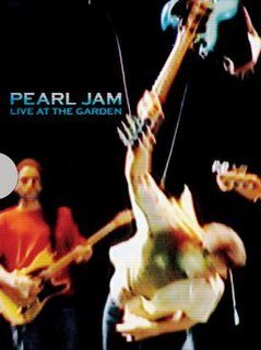 <i>Live at the Garden</i> 2003 video by Pearl Jam