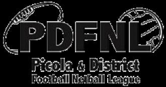 Picola & District Football League - Image: Picola & District Football League logo