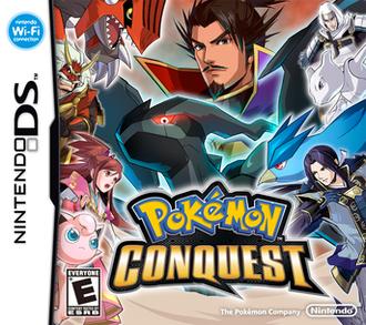 Pokémon Conquest - North American box art