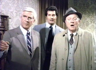 Police Squad! - Drebin, Norberg and Hocken, the main characters of Police Squad!