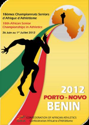 2012 African Championships in Athletics - Image: Porto Novo 2012 Logo