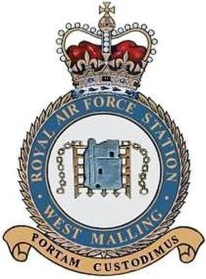 RAF West Malling - PORTAM CUSTODIMUS (We Guard the Gate)