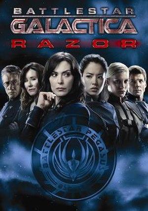Battlestar Galactica: Razor - DVD cover