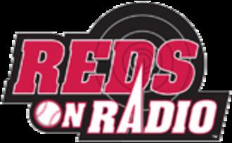 Cincinnati Reds Radio Network - Image: Reds on radio