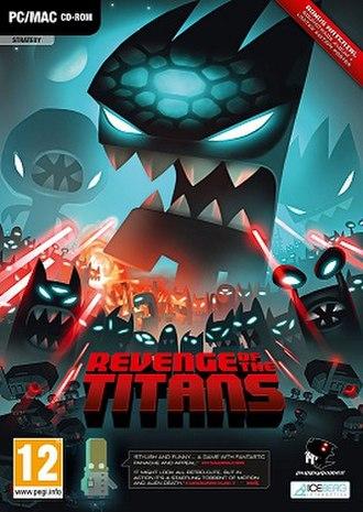 Revenge of the Titans - Image: Revenge of the titans cover art