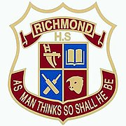 Richmond High School badge