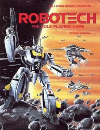 Robotech (role-playing game) - Image: Robotech RPG 1986