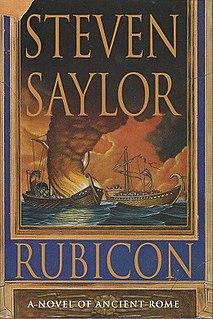 <i>Rubicon</i> (Saylor novel) novel by Steven Saylor