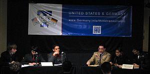 Rutgers University Debate Union - RUDU competitors face the RU Association of International Relations in a public debate on December 10, 2012.