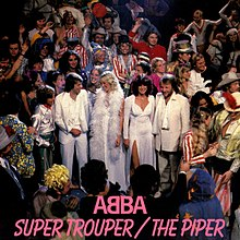 ABBA — Super Trouper (studio acapella)