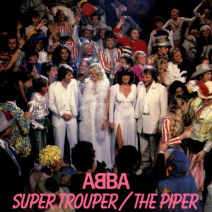 Super Trouper (song) - Image: SUPER TROUPER single cover
