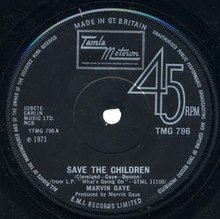 marvin gaye save the children
