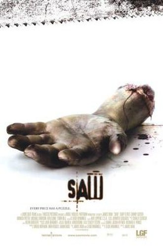 Saw (2004 film) - Theatrical release poster