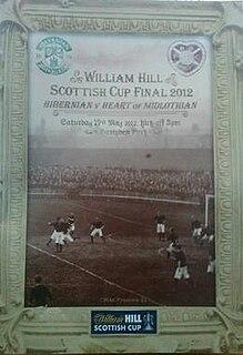 2012 Scottish Cup Final association football match