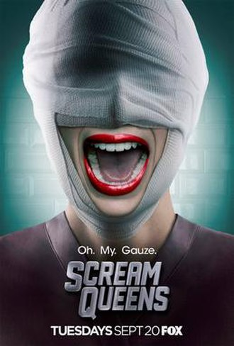 Scream Queens (season 2) - Promotional poster