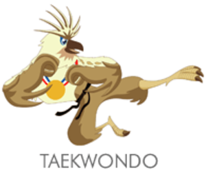 Taekwondo at the 2005 Southeast Asian Games - Taekwondo at the 2005 Southeast Asian Games logo