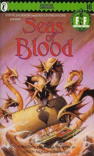 Seas of Blood - Original Puffin Books cover (1985)