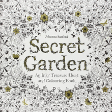 Secret Garden Book Cover Author Johanna Basford