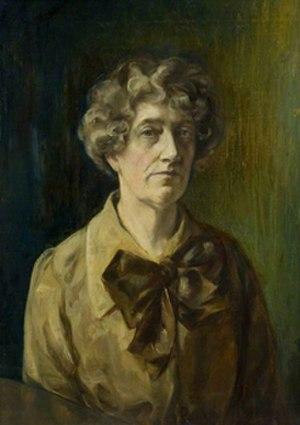 Anne Marjorie Robinson - Self portrait of Anne Marjorie Robinson