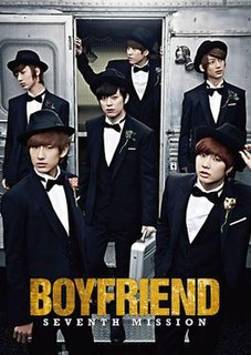 <i>Seventh Mission</i> 2013 studio album by Boyfriend